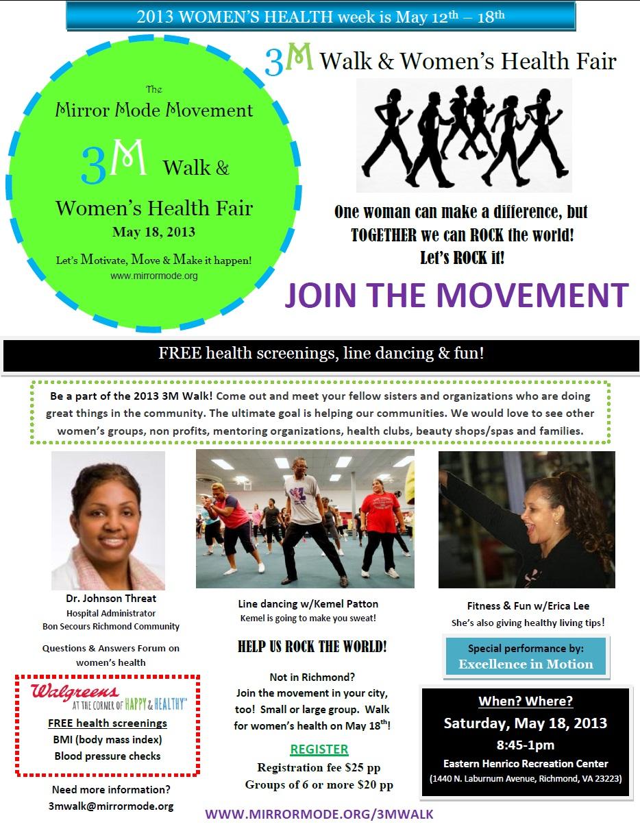 Mirror Mode, Inc. 3M Walk & Women's Health Fair