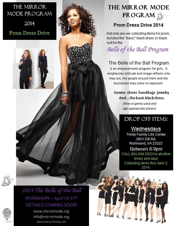 Mirror Mode Prom Dress Drive Belle of the Ball