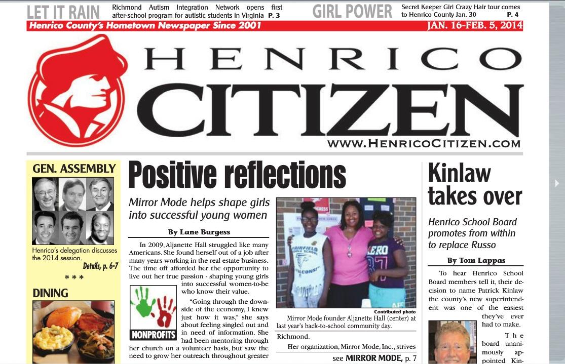 Mirror Mode Mentoring Henrico Citizen
